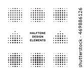 vector halftone dots logo...   Shutterstock .eps vector #469886126