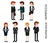 business people  group of... | Shutterstock .eps vector #469892216