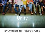 unity community connection... | Shutterstock . vector #469897358