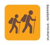 hiking icon illustration... | Shutterstock .eps vector #469899998