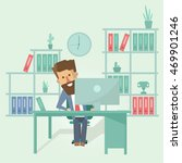 flat design vector illustration ... | Shutterstock .eps vector #469901246