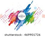 vector frame for text and... | Shutterstock .eps vector #469901726