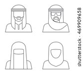 Middle Eastern People Avatar In ...
