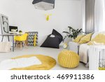shot of a modern interior with... | Shutterstock . vector #469911386