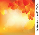 abstract autumn sunny...   Shutterstock .eps vector #469923806