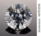 luxury diamonds on black... | Shutterstock . vector #469953596