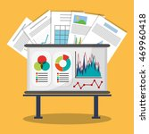 spreadsheet board document... | Shutterstock .eps vector #469960418