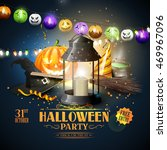 Modern Halloween Party Flyer...