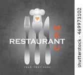 restaurant menu | Shutterstock .eps vector #469973102