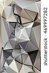 randomly scattered triangles of ... | Shutterstock . vector #469997282
