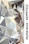 randomly scattered triangles of ... | Shutterstock . vector #469997312