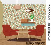 vector illustration of retro... | Shutterstock .eps vector #470003732