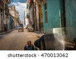 street in old havana cuba | Shutterstock . vector #470013062
