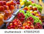 fresh market produce at an... | Shutterstock . vector #470052935
