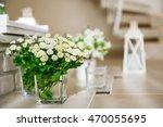 Wild Flowers In Glass Vases...