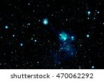 space background with stars   | Shutterstock . vector #470062292