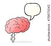 freehand drawn speech bubble... | Shutterstock . vector #470073242