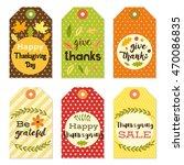 cute autumn and thanksgiving...   Shutterstock . vector #470086835