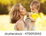 happy family  friends forever... | Shutterstock . vector #470093042