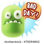 3d rendering sad character... | Shutterstock . vector #470094842