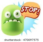 3d rendering sad character... | Shutterstock . vector #470097575