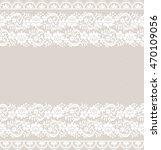 seamless lace pattern  flower... | Shutterstock .eps vector #470109056