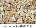 Stone And Coral Wall Texture....
