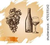 vector illustration sketch  ... | Shutterstock .eps vector #470155142