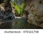 mountain river gorge near panta ... | Shutterstock . vector #470161748