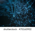 futuristic virtual technology... | Shutterstock . vector #470163902