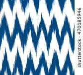 ikat vector seamless pattern.... | Shutterstock .eps vector #470185946