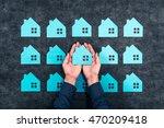 residential image | Shutterstock . vector #470209418