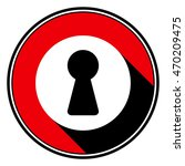 information icon   red circle ... | Shutterstock .eps vector #470209475
