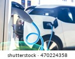 power supply for electric car... | Shutterstock . vector #470224358