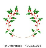 leafs christmas decoration... | Shutterstock .eps vector #470231096