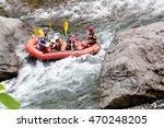 Rafting Enjoy In The Japan Of...
