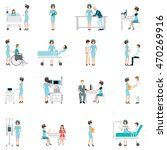 nurse health care decorative... | Shutterstock .eps vector #470269916