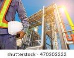 double exposure mechanical... | Shutterstock . vector #470303222