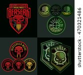 special forces military patch... | Shutterstock .eps vector #470321486