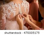 wedding. bridesmaid preparing... | Shutterstock . vector #470335175