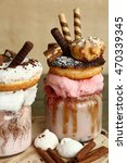 Milkshake  Donuts And Other...