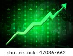 stock market going up. eps10 | Shutterstock .eps vector #470367662