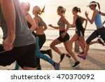 cropped shot of young people... | Shutterstock . vector #470370092