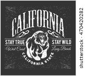 california republic vintage... | Shutterstock .eps vector #470420282