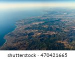 high altitude photo of planet... | Shutterstock . vector #470421665