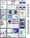 annual report brochure template ... | Shutterstock .eps vector #470429375