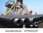 drilling rig in china | Shutterstock . vector #47043229