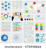 ui  elements of infographics... | Shutterstock .eps vector #470448866