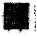 grunge banner. vector. | Shutterstock .eps vector #47045299