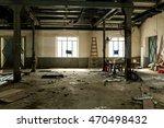 Abandoned houses - stock photo